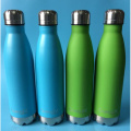Eco friendly Green Stainless Metal Water Sport Bottles