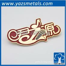 Placa de marca de fábrica del esmalte de encargo