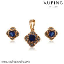 64232-xuping fashion 18k gold 2016 pakistani bridal jewelry sets
