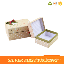 Silver First Custom different size and printing pattern cardboard packaging box with clear lid