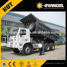 Sino 60-100TON caminhão basculante ZZ3257N3447A1 para venda em eithopia