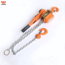 Portable lift material building 3 ton lever chain hoist