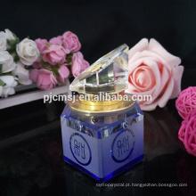 Venda quente 3 ml 6 ml 12 ml novos produtos de cristal frasco de perfume para o óleo de perfume