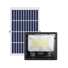 LED Solar Flutlicht mit Digitalanzeige digital