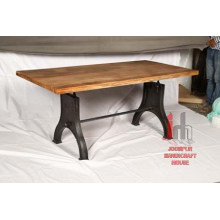Iron Wood Dining Table