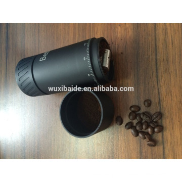 Mini Hand Coffee Grinder (Capacity 50g) - Small Coffee Grinder Hand Crank - Well Designed Ceramic Coffee Grinder,