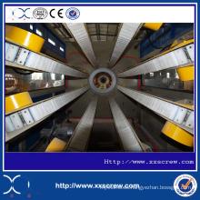 Línea de producción de extrusores de tubería de plástico
