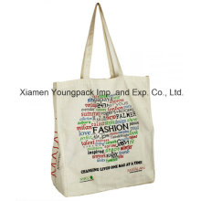 Promotional Reusable Custom Printed Cotton Carrier Bag