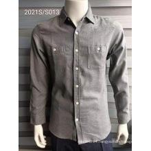 Modern Two Shirt Pockets Men's Fashion Shirts