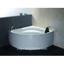 EAGO Whirlpool massage corner acrylic bathtub AM162
