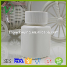 60ml botella médica cuadrada de calidad superior blanca de alta calidad del HDPE venta caliente