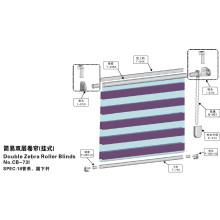 Doppelte Zebra Rollläden für Fenster (CB-73I)