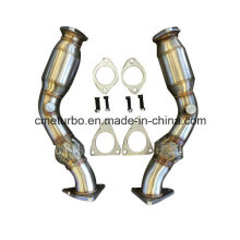 Manifold for 370z G37 Vq37hr Vq35hr 350z Test Pipes Anti-Reversion Chamber