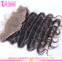 Por atacado tampas frontal laço cheio de mongol cabelo humano de 100% in natura