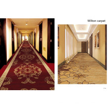Wilton Construction Poyester Hotel Carpet
