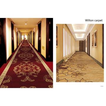 Wilton Construction Poyester Hotel Carpet