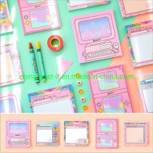 Colorful Self-Adhesive Sticky Memo Notes Paper Pad