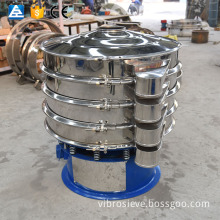 wheat rice bran vibro separating sifter for flour cleaning