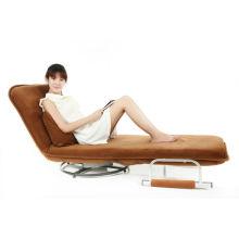 Cadeira dobrável portátil dobrável sofá-cama