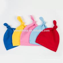 Neuer Entwurf des Babys 2018 Hut für neugeborenen Konton weichen Hut