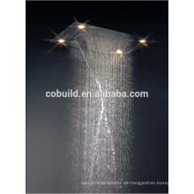 Südamerika heißer Verkauf Hand Duschkopf LED Beleuchtung Decke montiert Regen Duschkopf