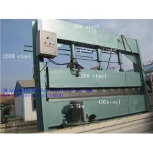 Machine à cintrer de panneau toiture métallique