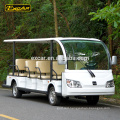 Customize 14 seater sightseeing bus new electric car china mini bus