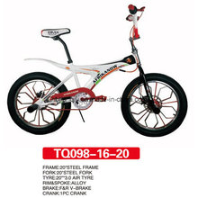 "Roue Alluminum de BMX Freestyle Bicycle 20 """