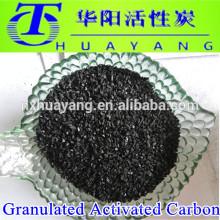 Medios de filtro de carbón activado / planta de carbón activado granulado para el tratamiento de aguas residuales y la industria química