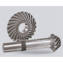 Precision Steel Helical Bevel Gear