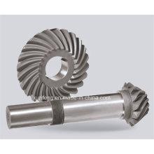 Precision Steel Helical Bevel Gear