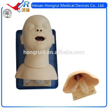 Nuevos entrenadores para bebés de manejo de vía aérea, maniquí de intubación