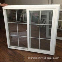 PVC sliding window and door, grill design, made of PVC/aluminum, heat-resistant property
