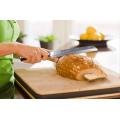 Высокоуглеродистый нож для хлеба из нержавеющей стали с зубчатыми ножами для хлеба 8 дюймов
