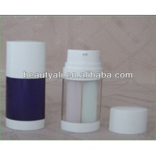 20ml 30ml 60ml Airless Bottle With Two Tube Manufacturer
