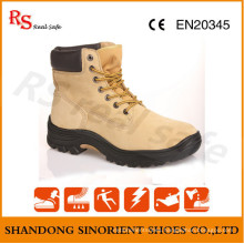 PU Injection Outsole Steel Toe Cap Safety Worker Shoes