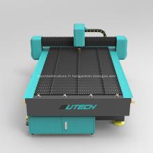 Machine de découpe plasma métal CNC en acier