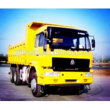 Carro de descarga de HOWO 6 * 4 de Sinotruk / volquete de HOWO / volquete de HOWO / camión volquete de la mina de HOWO / carro de descarga usado / carro de descarga común / volquete común