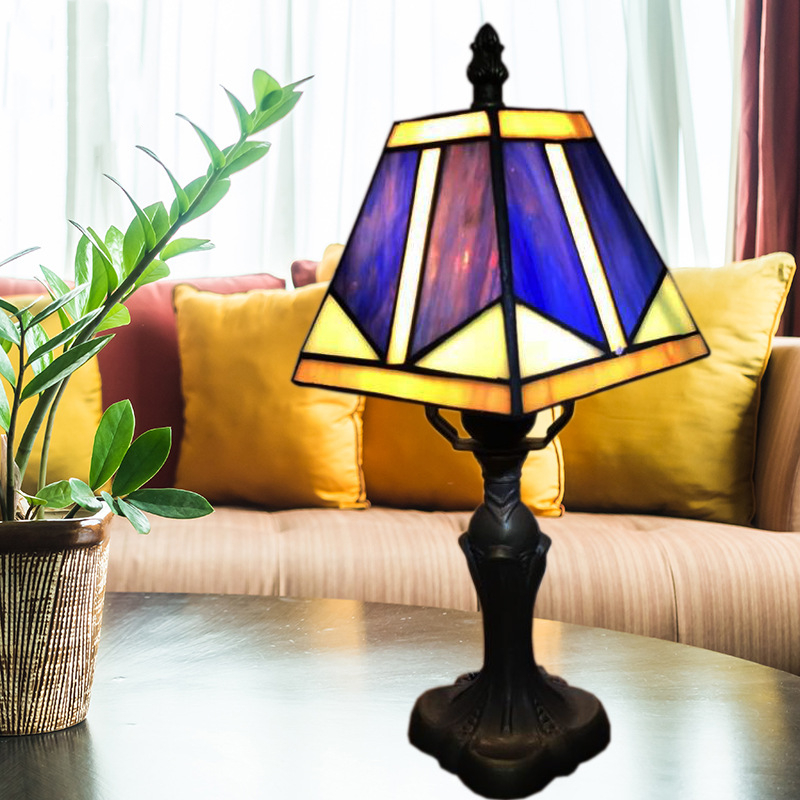 Application Small Cream Lamp Table