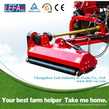 La tondeuse à fléaux latérale à tracteur compact utilise des lames à double marteau
