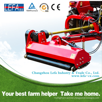 Compact Tractor Side Flail Mower Use Double Hammer Blades