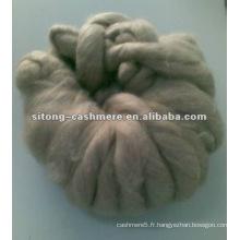 Dessus de fibre de cachemire pur pour l'usage de filature