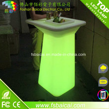 High LED Bar Table for Drinking