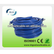 2013 Hot sale high quality 24AWG 26AWG Copper/CCA/CCS UTP FTP SFTP LAN cable Cat6 Patch Cord