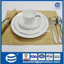 Upmarket tablewares für stern hotel neue bone china tablewares china lieferant großhandel