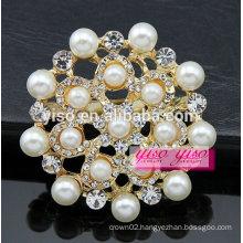 European and america pearl austrican crystal brooch