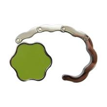 Promoción plegable de impresión personalizada Logo flor bolso monedero titular (f2011)