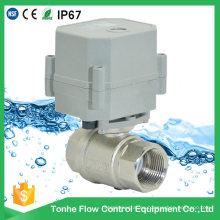 Dn20 230V Latón Niquelado Válvula de cierre de agua eléctrica