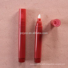empty with any printing lip gloss pen