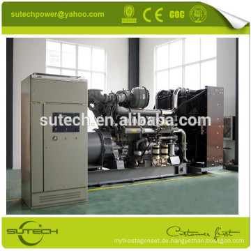 Containerized oder Open Typ UK original Perkin Motor 800kW 4008TAG2A Generator